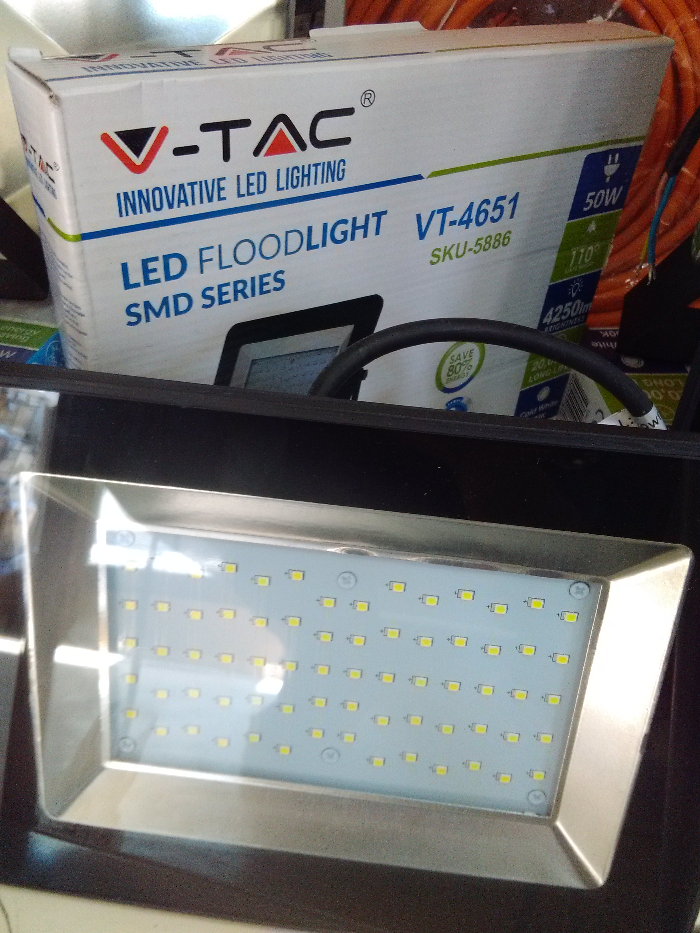 Led reflektor 50W art.2865 V-Tac 5886