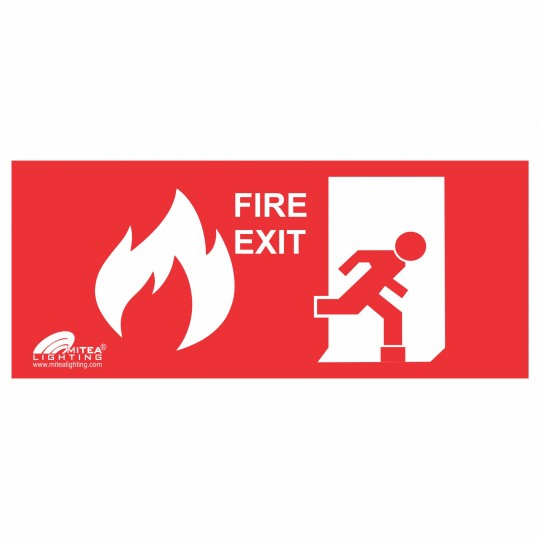 1327 Nalepnica EXIT FIRE 69512