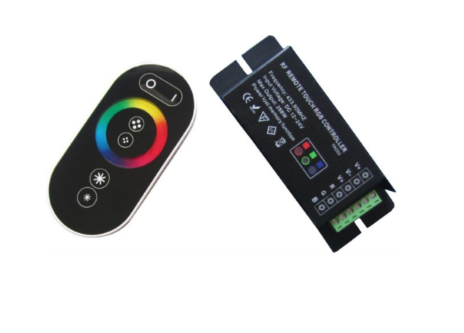 2656 BL Led kontroler RGB RF10 3x6A