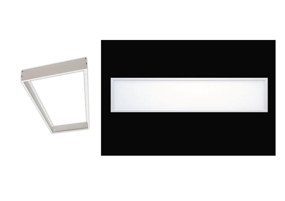 ELM Led panel 40W 5000K 4110lm Nadgradni