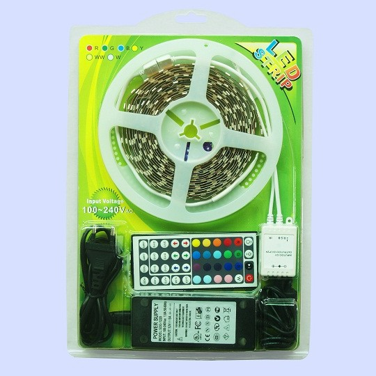 1226 TRN Mitea blister 5050 30led/m IP20 7.2W/m-RGB