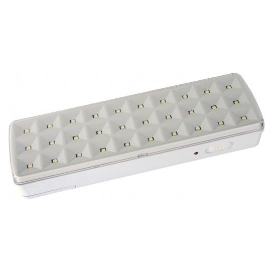 2539 M632L Led panik lampa 30LED IP40
