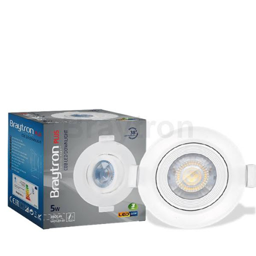 2727 BRY Led spot 5W IP44 6500K za kupatilo