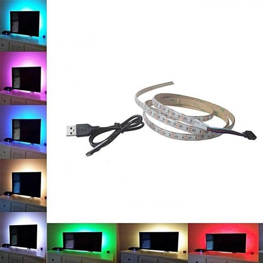 924 M69802 Led traka USB za TV RGB 1m